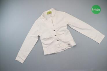 6126 объявлений | ДЕТСКИЙ МИР: Дитяча однотонна блуза RML   Довжина: 41 см Ширина плечей: 32 см Довжи