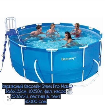 Спорт и хобби - Луговое: ХарактеристикиОбъём бассейна (90%), л.: 10 250Система фильтрации