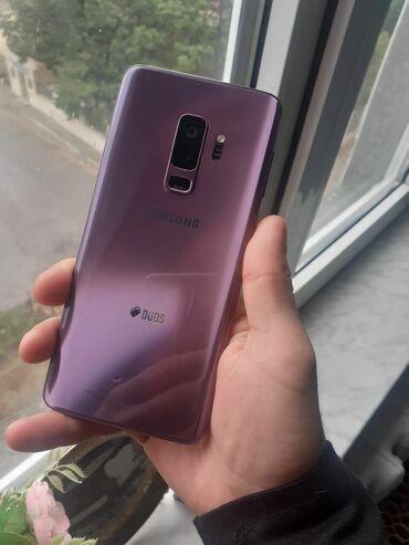 10177 elan | MOBIL TELEFON VƏ AKSESUARLAR: Samsung Galaxy S9 Plus | 128 GB | Bənövşəyi | Sensor, Barmaq izi, İki sim kartlı