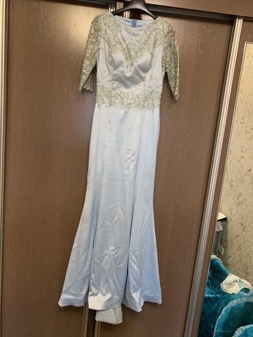 Платье. Одевала один раз. Сшила на заказ в Бишкек