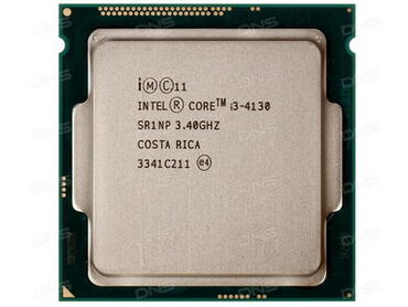 Lga1150 intel core i3-4130 3.4ghzосновные данныесокет: lga1150тип
