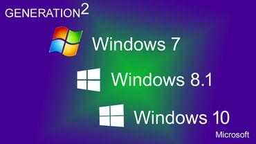 Windows XP/ 7/ 8/ 10 32+64 bita NA USB JEFTINO citaj - Kikinda
