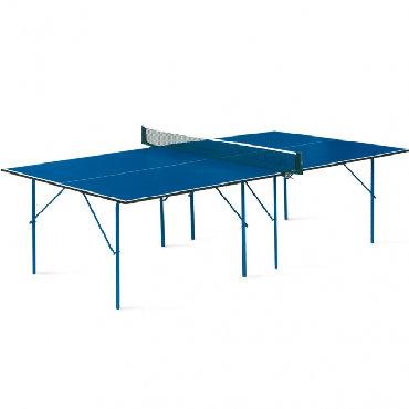 Теннисный стол start line hobby-2новый !!!занимает минимальное