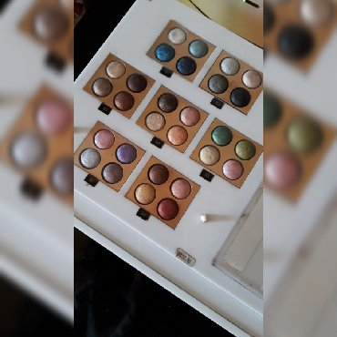 Paleta - Srbija: Paleta wet-dry shadesPaleta visokopigmentovanih senki. na paleti se