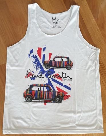 Majica muska xl - Srbija: Paul Smith London, lagana majica bez rukava. muska, letnja. l-xl