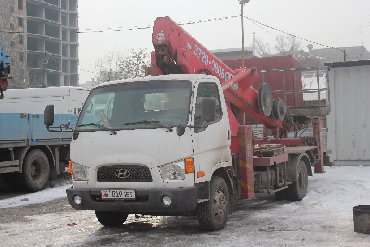 alcatel boom в Кыргызстан: Аренда автовышки. Автовышки в Бишкеке от 20 до 46 метров. Звоните и з