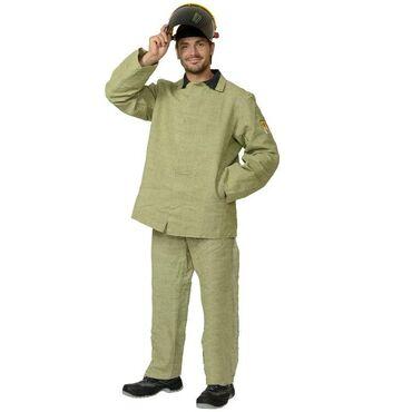 тамко мужская одежда в Кыргызстан: Брезентовый костюм сварщика.Костюм изготовлен из парусины с