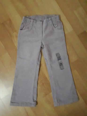 Pantalonice od somota za devojcice, novo, nikad nosene. Br. 4 - Jagodina