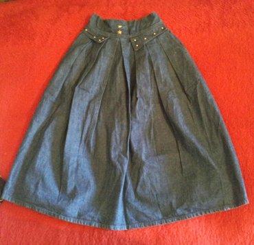 Suknja sl - Srbija: Teksas suknja retro Retro texas suknja iz 80-tih godina koja je opet u