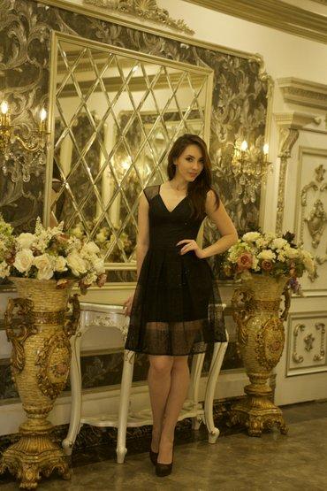 Платье черное размер 42р. цена 5000 в Бишкек