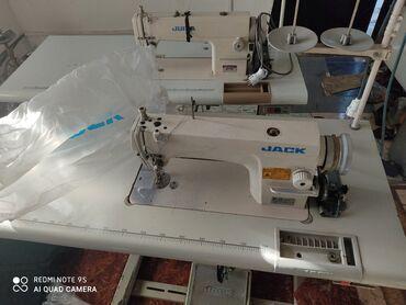 Электро швейная машинка - Кыргызстан: Продаю швейные машинки состояние хорошее JACK JUITA прямо строчки