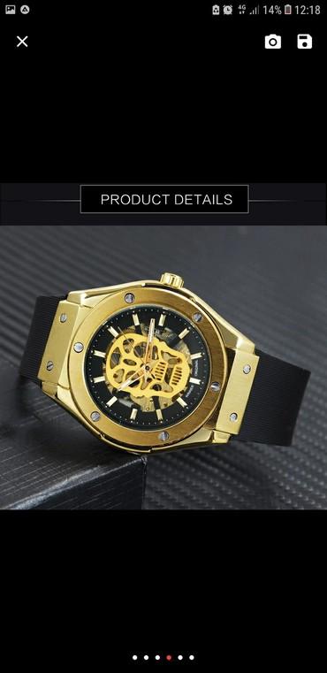 футболка скелет мужская в Кыргызстан: Модные спортивные авто механические мужские часы, лучший бренд класса
