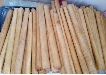 Молотки в Кыргызстан: Ручки для молотка .р,длина 350мм-400мм,береза 1сорт, шлифован ные,проп
