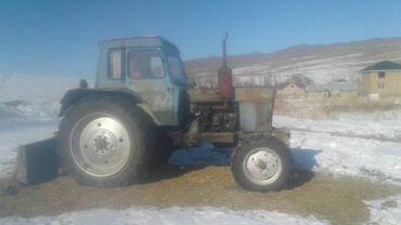Прессподборщик кыргызстан - Кыргызстан: Продаю трактор мтз 80 и прессподборщик 550000сом