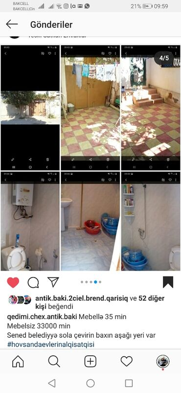 evlərin alqı-satqısı - Astara: Satış Ev 90 kv. m, 3 otaqlı