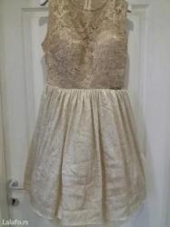 Maturska haljina, zlatna-jednom nošena na malu maturu i od tada stoji - Novi Sad