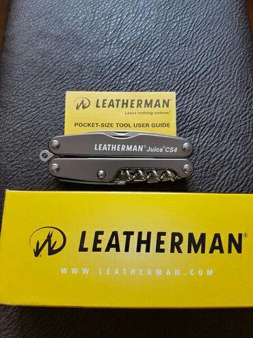 Коллекционные ножи в Кыргызстан: Продаю мультитул Leatherman Juice CS4. Новый. Оригинал. Небольшой