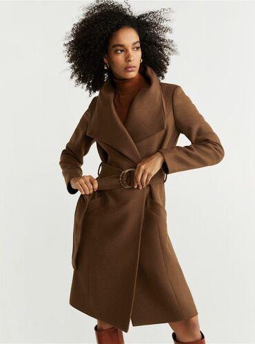 продам наковальню в Кыргызстан: Продам брендовое пальто Манго в новом состоянии. 70% шерсти. Носила 1
