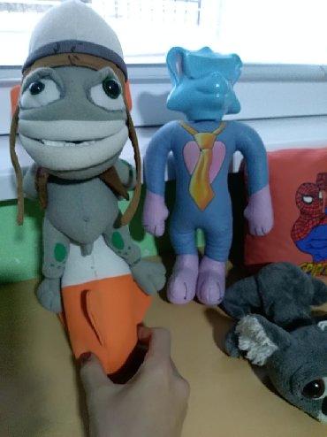 Gratis-komplet-l - Srbija: Plišane igračke za decu. Cena je za ceo komplet