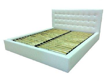 Двуспальные кровати в Кыргызстан: Кровать двуспальная С мягким изголовьем и ортопедическим