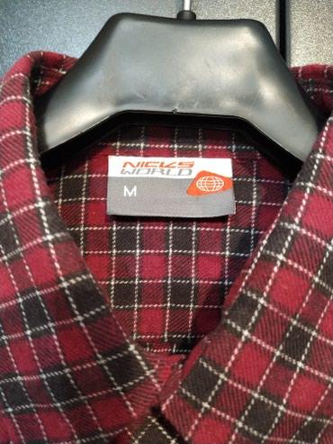 Рубашка. Бренд. Размер М, 46. 100 %хлопок. в Бишкек