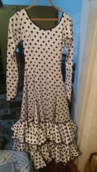Платье для Испанских народных танцев.Размер 42-44.Мама шила для