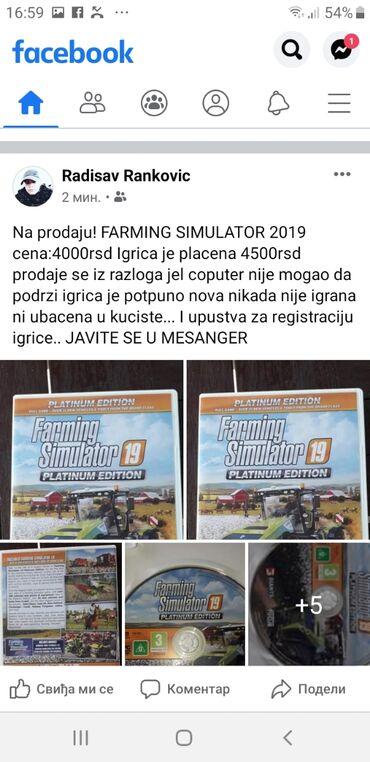 Knjige, časopisi, CD i DVD | Knic: Na prodaju! FARMING SIMULATOR 2019! POTPUNO NOV NOV NOV NOV NIKADA
