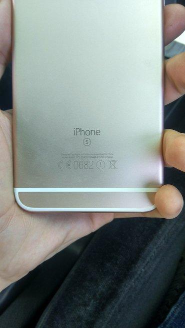 Iphone 6s plus gold 16 без обмена свежепригнанный с Америки в Бишкек