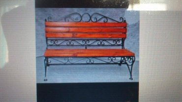 садовые скамейки 1,5 метра, 3500-4000 сом 0703713000 заказывайте без п в Бишкек