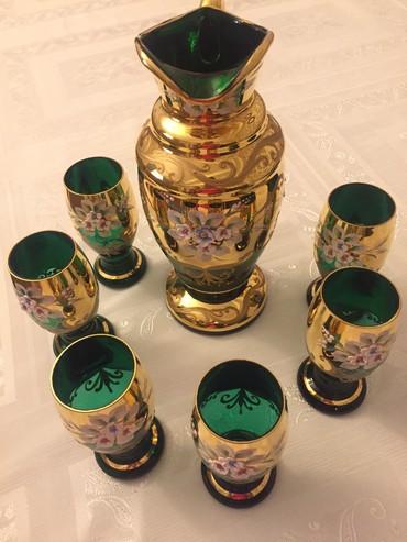 Bakı şəhərində Bagema Original krafinka ve yaninda 6 stekani, Yepyeni kimi qalib.