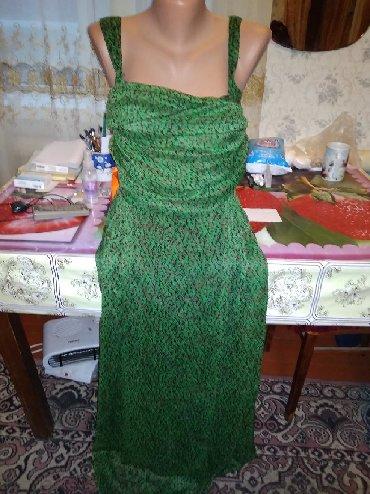 Женская одежда в Каинды: Сарафан на запах очень интересный см. фото размер 46-48 цена: 300