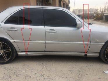 Заглушки домкрат для мерседес amg w202. в Душанбе