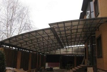 Крыша,навес жана башка жумуштарды в Бишкек