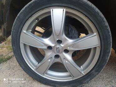 Транспорт - Кара-куль: Продается титан диска R17 elegance низкопрофиль сост идеал цена