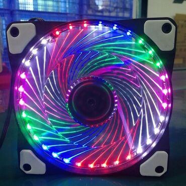 Вентилятор( кулер) для корпуса- 12-сантиметровый светящийся- 33