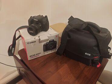 4006 объявлений: Продаю canon eos 800D EF-S 18-55 IS STM, почти новая, редко