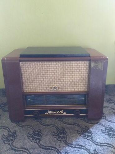 Минск 55 радио патефон