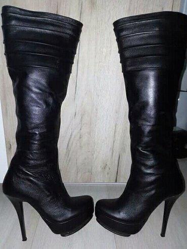 Nove kožne čizme, br. 35, prelepe użivo... - Krusevac - slika 3