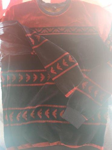 джемпер наволочка спицами в Кыргызстан: Мужские джемпера, лонгслив,остались размеры маломер,цвет синечерный с