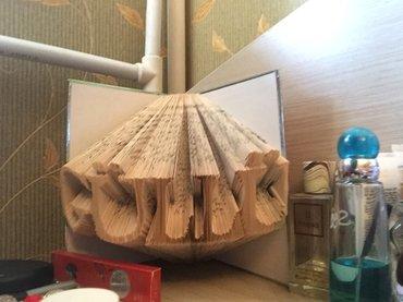 Bakı şəhərində kitablardan hazirlanmis muxtelif hediyyeler. qiymetler muxtelifdir