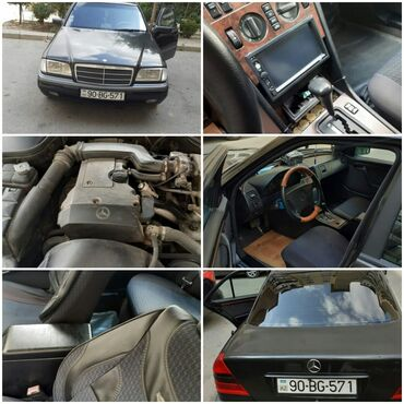 Mercedes-Benz - Azərbaycan: Mercedes-Benz 190 (W201) 1994