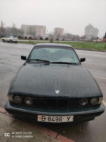 BMW - Зеленый - Бишкек: BMW 520 2 л. 1992 | 2222222 км