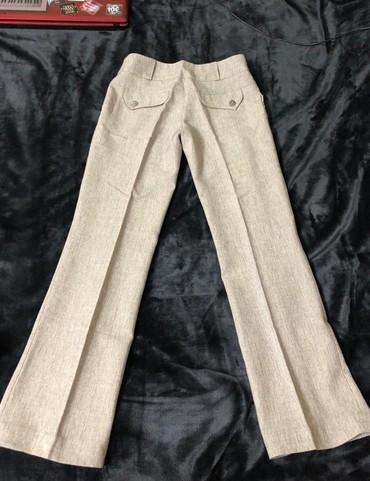 Женская одежда в Тамчы: Брюки на девочку,состоянин отличное,размер s,200 сом