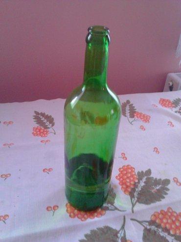 Vinske flaše,50-60,komada(komad 20 din. Samo je original  vino bilo u - Zrenjanin
