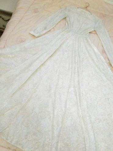 Нежное длинное белое платье) Сшито на в Лебединовка