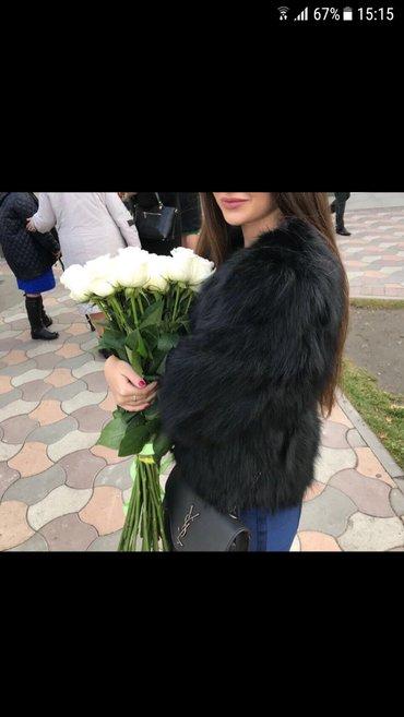 НОВЫЕ! Натуральные лисьи шубки! три последние (черного,фиолетового и б in Бишкек