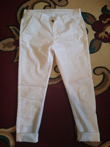 Турция белые брюки продаю всего за 250 в Токмак