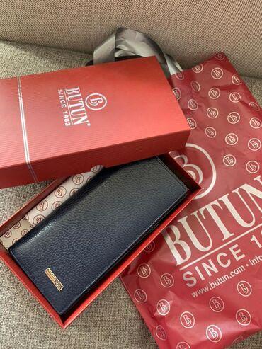 Новый мужской кошелёк (валютница) от Турецкого бренда butun. Натуральн