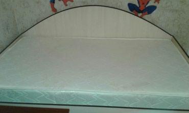 Кровать, ортопедический матрац 180×100,снизу ниша для белья в Бишкек