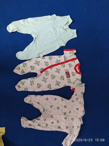 набор для новорожденных в Кыргызстан: Каинда! Слипики в хорошем состоянии! На новорожденных. 58,62р